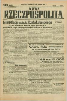 Nowa Rzeczpospolita. R.1, nr 83 (29 czerwca 1938)