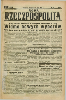 Nowa Rzeczpospolita. R.1, nr 87 (1 lipca 1938)