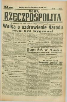 Nowa Rzeczpospolita. R.1, nr 90 (4 lipca 1938)