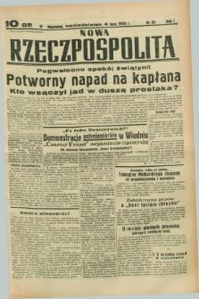 Nowa Rzeczpospolita. R.1, nr 91 (4 lipca 1938)