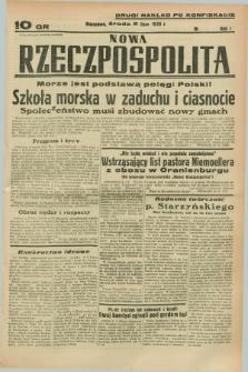 Nowa Rzeczpospolita. R.1, nr [92] (6 lipca 1938) drugi nakład po konfiskacie