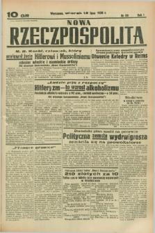 Nowa Rzeczpospolita. R.1, nr 99 (12 lipca 1938)