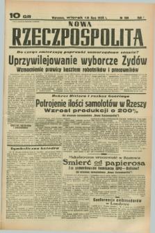 Nowa Rzeczpospolita. R.1, nr 100 (12 lipca 1938)