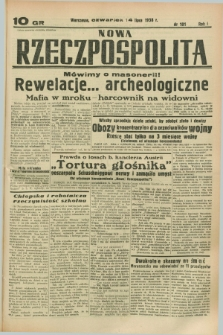 Nowa Rzeczpospolita. R.1, nr 101 (14 lipca 1938)