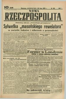 Nowa Rzeczpospolita. R.1, nr 102 (14 lipca 1938)