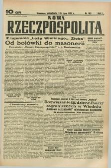 Nowa Rzeczpospolita. R.1, nr 103 (15 lipca 1938)