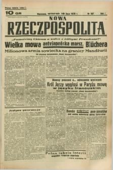 Nowa Rzeczpospolita. R.1, nr 107 (19 lipca 1938)