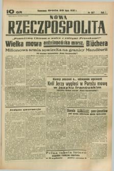 Nowa Rzeczpospolita. R.1, nr 107 (20 lipca 1938)