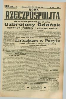Nowa Rzeczpospolita. R.1, nr 108 (20 lipca 1938)