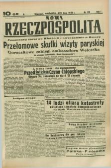 Nowa Rzeczpospolita. R.1, nr 112 (23 lipca 1938)