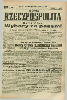 Nowa Rzeczpospolita. R.1, nr 113 (25 lipca 1938)