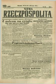 Nowa Rzeczpospolita. R.1, nr 114 (26 lipca 1938)