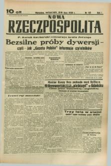 Nowa Rzeczpospolita. R.1, nr 115 (26 lipca 1938)