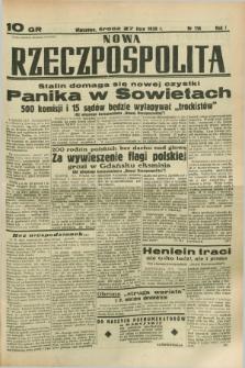 Nowa Rzeczpospolita. R.1, nr 116 (27 lipca 1938)