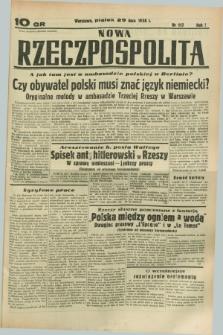 Nowa Rzeczpospolita. R.1, nr 117 (29 lipca 1938)