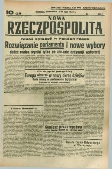 Nowa Rzeczpospolita. R.1, nr 118 (30 lipca 1938) drugi nakład po konfiskacie