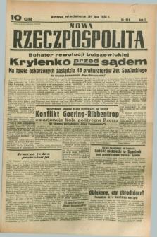 Nowa Rzeczpospolita. R.1, nr 120 (31 lipca 1938)
