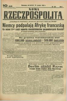Nowa Rzeczpospolita. R.1, nr 125 (5 sierpnia 1938)