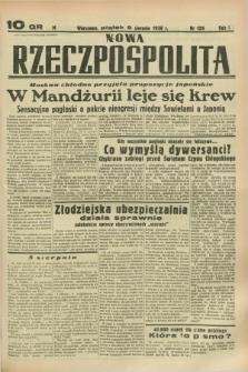 Nowa Rzeczpospolita. R.1, nr 126 (5 sierpnia 1938)