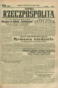Nowa Rzeczpospolita. R.1, nr 129 (9 sierpnia 1938)