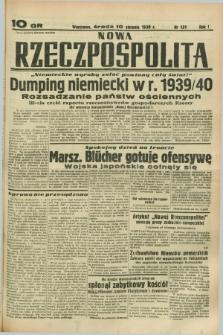 Nowa Rzeczpospolita. R.1, nr 131 (10 sierpnia 1938)