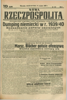 Nowa Rzeczpospolita. R.1, nr 131 (11 sierpnia 1938)