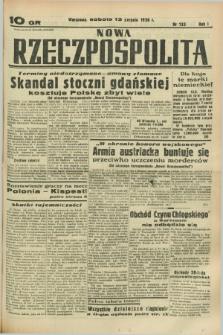 Nowa Rzeczpospolita. R.1, nr 133 (13 sierpnia 1938)