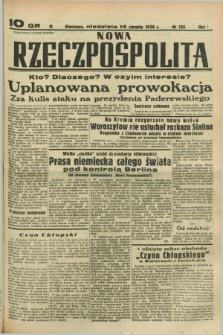 Nowa Rzeczpospolita. R.1, nr 135 (14 sierpnia 1938)