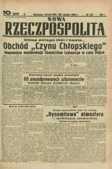 Nowa Rzeczpospolita. R.1, nr 136 (16 sierpnia 1938)
