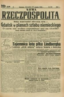 Nowa Rzeczpospolita. R.1, nr 137 (17 sierpnia 1938)
