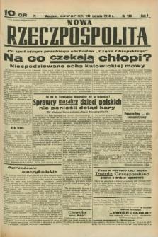 Nowa Rzeczpospolita. R.1, nr 138 (18 sierpnia 1938)