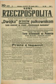 Nowa Rzeczpospolita. R.1, nr 139 (19 sierpnia 1938)