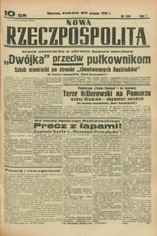 Nowa Rzeczpospolita. R.1, nr 139 (20 sierpnia 1938)
