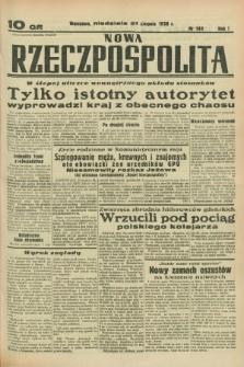 Nowa Rzeczpospolita. R.1, nr 140 (21 sierpnia 1938)