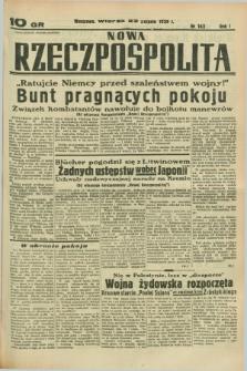 Nowa Rzeczpospolita. R.1, nr 143 (23 sierpnia 1938)