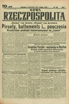 Nowa Rzeczpospolita. R.1, nr 148 (27 sierpnia 1938)