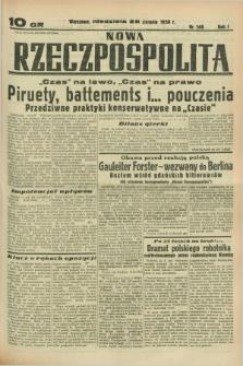 Nowa Rzeczpospolita. R.1, nr 148 (28 sierpnia 1938)