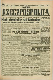 Nowa Rzeczpospolita. R.1, nr 149 (28 sierpnia 1938)