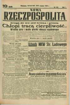 Nowa Rzeczpospolita. R.1, nr 150 (30 sierpnia 1938)