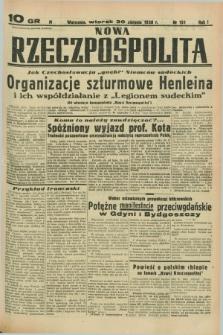 Nowa Rzeczpospolita. R.1, nr 151 (30 sierpnia 1938)