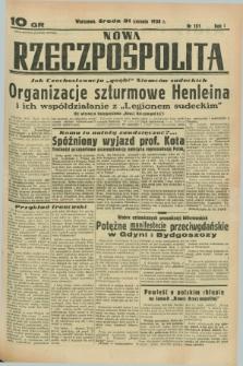 Nowa Rzeczpospolita. R.1, nr 151 (31 sierpnia 1938)