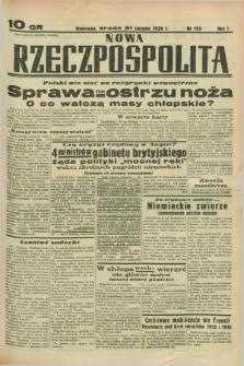 Nowa Rzeczpospolita. R.1, nr 152 (31 sierpnia 1938)
