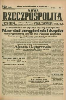 Nowa Rzeczpospolita. R.1, nr 157 (5 września 1938)