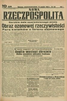 Nowa Rzeczpospolita. R.1, nr 158 (5 września 1938)