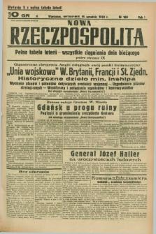 Nowa Rzeczpospolita. R.1, nr 160 (6 września 1938) wydanie II