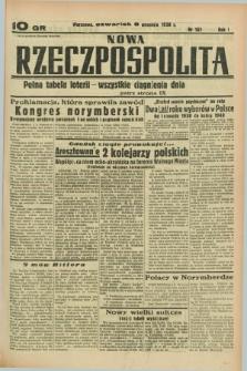 Nowa Rzeczpospolita. R.1, nr 161 (8 września 1938)