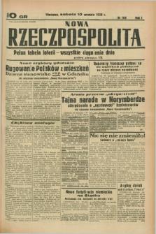 Nowa Rzeczpospolita. R.1, nr 164 (10 września 1938)