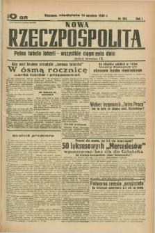 Nowa Rzeczpospolita. R.1, nr 165 (11 września 1938)