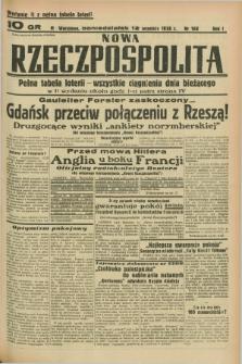 Nowa Rzeczpospolita. R.1, nr 168 (12 września 1938) wydanie II