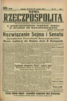 Nowa Rzeczpospolita. R.1, nr 171 (14 września 1938)